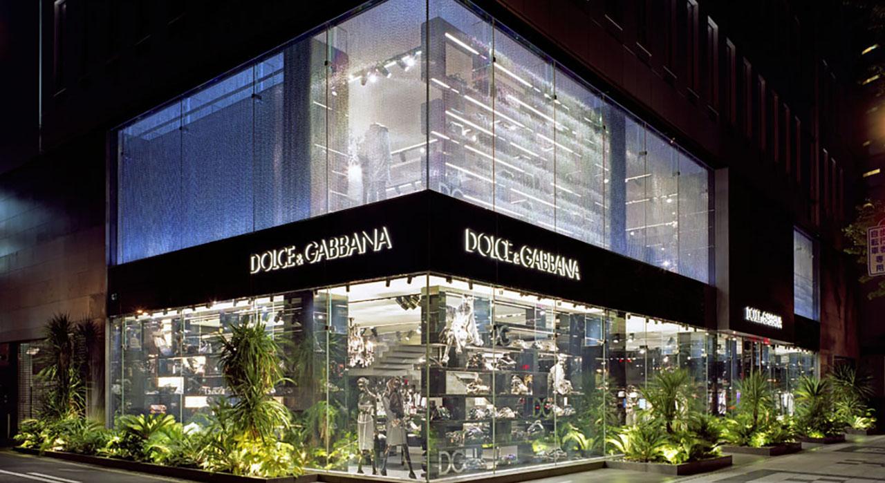 GARDE - Dolce   Gabbana Osaka Flagship Store 98ae8690324